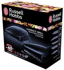 Russell Hobbs Compact Fitnessgrill Elektrogrill abnehmbaren Grillplatten 816132