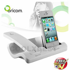 ORICOM  BLUETOOTH CORDLESS DESK HANDSET & CHARGER DOCK STAND For iPHONE 4 4s
