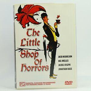 The Little Shop of Horrors Roger Corman Jonathan Haze DVD GC