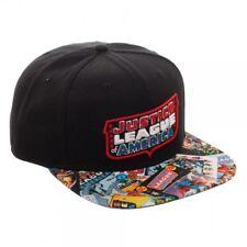 e6b2994b525 Justice League of America Snapback Hat Cap DC Comics Officially Licensed  JLA NEW