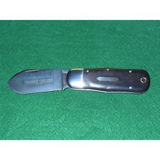 GEC #45 Lumber Jack Knife Tidioute Ebony Wood 452112 T STL Great Eastern Cutlery