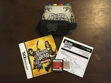 Guitar Hero: On Tour Decades (Nintendo DS, 2008) with Instruction Booklet