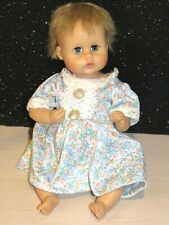 "Vintage 12"" Blonde Hair Teenie Weenie Tiny Tears American Character Baby Doll"
