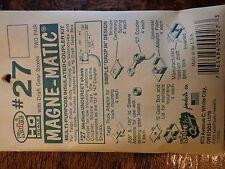 "Kadee HO #27  Plastic-Shank Coupler - Kit - Magne-Matic(R) -- Medium 9/32"" Under"