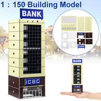 1/150 Scale Outland Modern Scene Bank Building Model N Gauge FOR GUNDAM Gifts