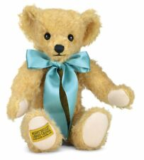 More details for merrythought windsor mohair teddy bear 12'' includes passport