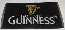 Serviette Guinness Noir Queue De Billard Snooker Barre De Main NOUVEAU DESIGN
