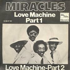 7inch MIRACLES love machine HOLLAND +PS SOUL EX 1976 feat smoky robinson