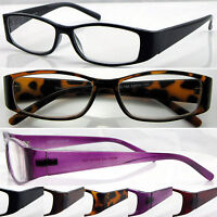 L150 Plastic Reading Glasses Metal Hinges+75+100+200+225+250+275+300+325+350+375