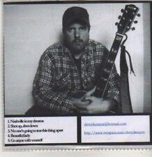 (CS772) Dave Kenyon, 5 track demo - DJ CD