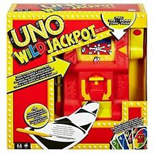 Mattel UNO Jackpot Wild Card Game Games Dng26