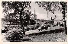 Mariehamn Aland Vastra Hammen Real Photo Antique Postcard J67921