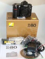 Nikon D80 Digital SLR Camera BODY ONLY LOW SHUTTER CLICKS UNDER 8K