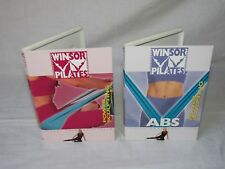 2 Lot of Windsor Exercise Pilates POWER SCULPTING RESISTANCE Workout DVD NEW
