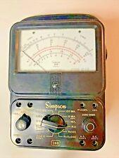 Simpson Model 260 Series 3 Multimeter Parts Or Repair