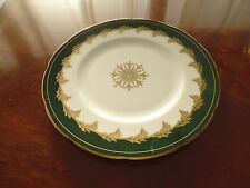 Foley Green & Gold Dinner Plate