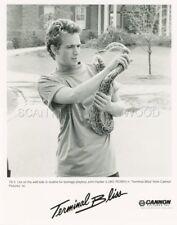 LUKE PERRY TERMINAL BLISS 1990 VINTAGE PHOTO ORIGINAL