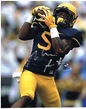 Mario Alford West Virginia Mountaineers Signed 8x10 #1 Let's go Mountaineers