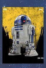 Star Wars Card Trader Digital The Last Jedi TLJ GOLD R2-D2 Rare 5cc