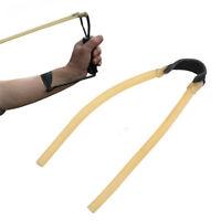 la caccia all'aperto. elastica bungee fionda catapulta elastici tubo di latex