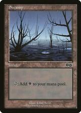 Magic MTG Tradingcard Urza's Saga 1998 Swamp 341/350