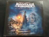 Tobias Sammet`s:   AVANTASIA  -  GHOSTLIGHTS  , LIMITED  EDITION  DIGIBOOK  2016