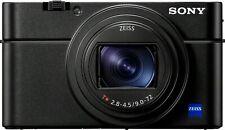 Sony - Cyber-shot RX100 VII 20.1-Megapixel Digital Camera - Black