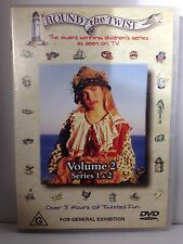 ROUND THE TWIST ~ VOLUME 2 SERIES 1 & 2 ~ AS NEW DVD ~ 216 MINS ~ PAL REGION 4