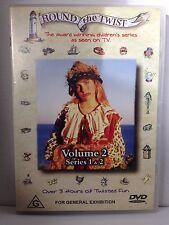 ROUND THE TWIST ~ VOLUME 2 SERIES 1 & 2 ~ AS NEW DVD ~ 216 MINS ~ PAL REGION 4
