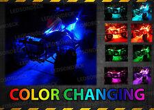 Bright Neon LED Under Glow Lighting ATV Kit For Kawasaki KFX50 90 Teryx4 800