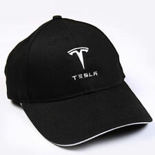 Embroidered TESLA Logo Baseball Cap Hat Sport Racing Model X Model S Adjustable