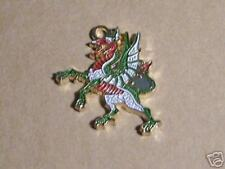 Medieval Heraldry Dragon Symbol Knight Arms Coa Crusades Pendant War Battle Holy