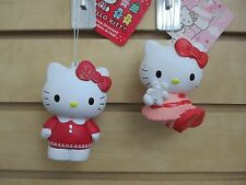 Set of 2 - HELLO KITTY Ornaments - New with tags