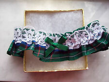 Ladies Tartan Wedding Garter. FUN!! Black Watch or Royal Stewart