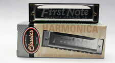 TROPHY CLASSIC FIRST NOTE DIATONIC 10 HOLE HARMONICA KEY OF C w/ INSTRUCTIONS