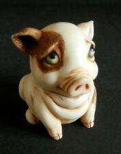 "Harmony Ball Pot Bellys ""Puddles' Blues"" Pig Figurine"