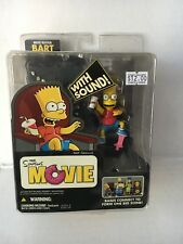 Burger King Kids Meal Toy THE SIMPSONS MOVIE - Movie Mayhem Bart