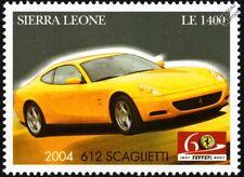2004 FERRARI 612 SCAGLIETTI Sports Car Stamp