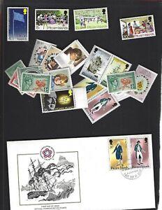 Pitcairn Island sc#123-6 (1972) Complete MNH + Nice lot