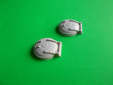 Round Hatch 24mm.(domed) Pair.   Model Boat Fittings.