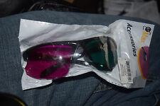 GT MAX Green Magenta Home Theater 3D Glasses Brand New Factory Sealed 2 Pair