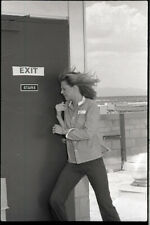LINDSAY WAGNER IN ACTION THE BIONIC WOMAN ORIGINAL 1977 NBC TV PHOTO NEGATIIVE