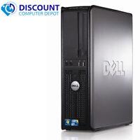 Fast Dell Optiplex Windows 10 Pro Desktop Computer Intel C2D 8GB 1TB DVD Wifi