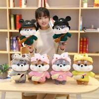 Super Cute Dressed Shiba Inu Animal Stuffed Plush Toys Doll For Kids Girls Gift