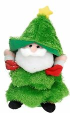 Novelty 40cm Singing Santa Christmas Tree Dancing Christmas Father Christmas