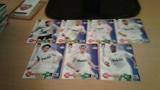 2009/10 Panini UEFA Champions League Super Srikes Real Madrid Cards x14