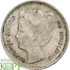 AA5962) Niederlande 10 Cents 1898 Wilhelmina, 1890 - 1948