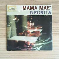 Negrita - Mama Maè - CD Single  - 1998 Polygram - Film Così è la Vita