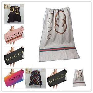Letter printed beach towel, beach seat towel, bath towel, beach shawl