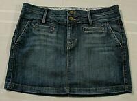 Lucky Brand Lucky You Blue Jean Denim Skirt, Size 4 / 27